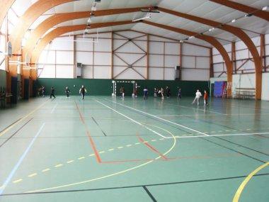 Gymnase Coutancière (intérieur)