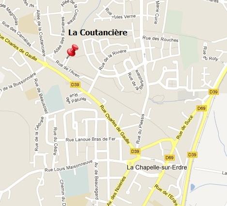Plan accès gymnase Coutancière